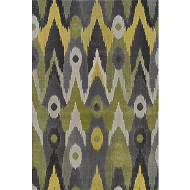 Dalyn Rug Co. Grand Tour Green/Gray Area Rug; Rectangle 7'10'' x 10'7''