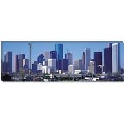 iCanvas Houston Panoramic Skyline Cityscape Photographic Print on Canvas; 20'' H x 60'' W x 0.75'' D