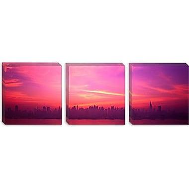 iCanvas Panoramic Skyline, New York City, New York State Photographic Print on Canvas