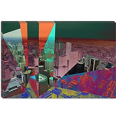 iCanvas Toronto's Financial District, Canada Graphic Art on Canvas; 12'' H x 18'' W x 1.5'' D