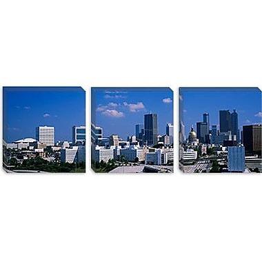 iCanvas Panoramic Skyscrapers in a City, Atlanta, Georgia Photographic Print on Canvas