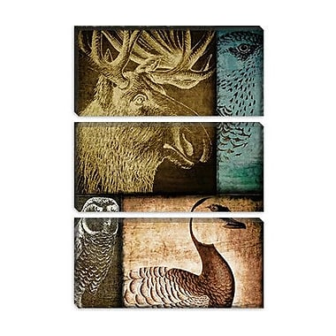iCanvas Color Bakery 'Hunting Season III' Graphic Art on Canvas; 12'' H x 8'' W x 0.75'' D