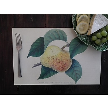 Belle Banquet Classic Apple Placemat (Set of 6)