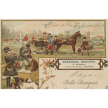 Belle Banquet Pub Menu Placemat (Set of 6)