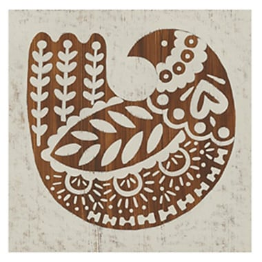 Evive Designs Country Woodcut II Paper Print