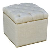 The Bella Collection Saix Ottoman