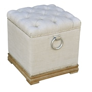 The Bella Collection Lyon Ottoman