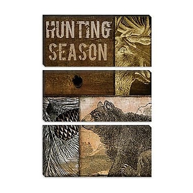 iCanvas Color Bakery 'Hunting Season IV' Graphic Art on Canvas; 26'' H x 18'' W x 0.75'' D
