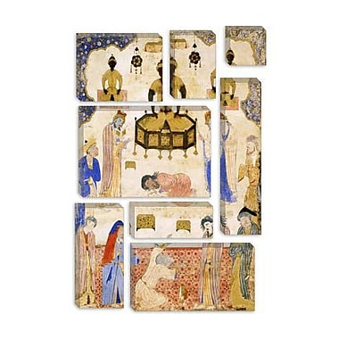 iCanvas Idolaters Before an Idol 1550 Islamic Painting Print on Canvas; 26'' H x 18'' W x 0.75'' D