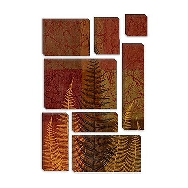 iCanvas 'Ferns II' by Erin Clark Painting Print on Canvas; 12'' H x 8'' W x 0.75'' D