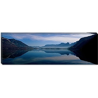 iCanvas Panoramic St. Wolfgangsee and Alps Salzkammergut Austria Photographic Print on Canvas