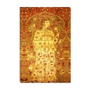 iCanvas Decorative Art Velvet Silk and Silver Lamella Fabric Islamic Painting Print on Canvas
