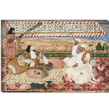 iCanvas Islamic 'The Darbar of Cornelis Van Den Bogaerde' Painting Print on Canvas