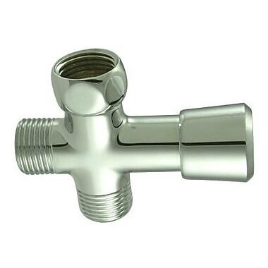 Elements of Design Shower Diverter; Chrome
