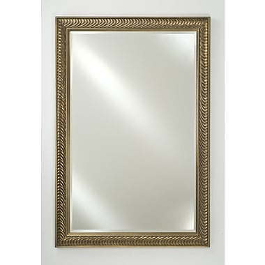 Afina Signature Surface Mount Plain Wall Mirror; 30'' H x 20'' W