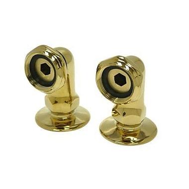 Elements of Design Accents Riser For Leg Tub Filler; Polished Brass