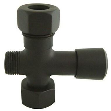 Elements of Design Hot Springs Shower Diverter; Oil Rubbed Bronze