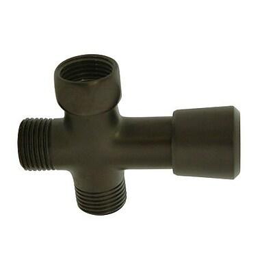 Elements of Design Shower Diverter; Oil Rubbed Bronze