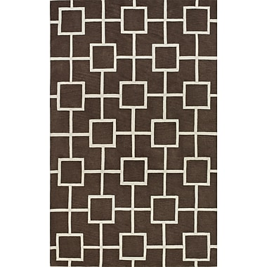 Dalyn Rug Co. Infinity Mocha Area Rug; 5' x 7'6''