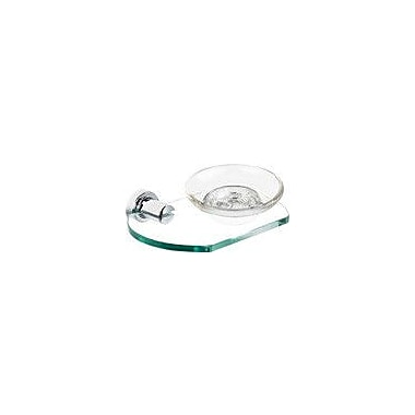Alno Infinity Soap Holder with Dish; Polished Nickel