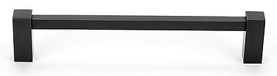 Alno Contemporary 8'' Center Bar Pull; Bronze