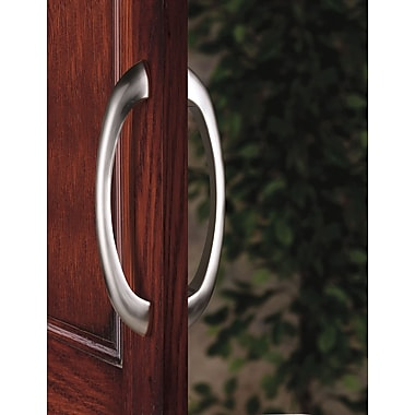 Alno Contemporary 10'' Center Arch Pull; Polished Nickel