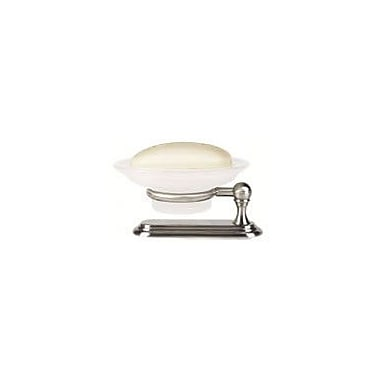 Alno Embassy Countertop Soap Dish; Polished Brass