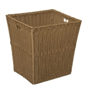 Wood Designs Wicker Storage Bin in Brown; Large