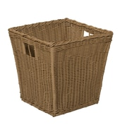 Wood Designs Wicker Storage Bin in Brown; Medium