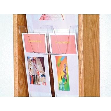 Wooden Mallet Removable Divider for Brochures