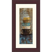 Printfinders 'Antique Coffee Cups II' by Silvia Vassileva Framed Graphic Art