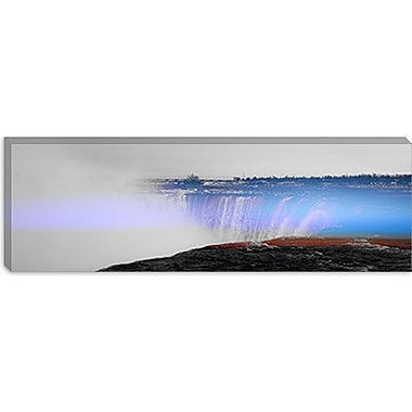 iCanvas Canada Niagra Falls Panoramic 3 Photographic Print on Canvas; 16'' H x 48'' W x 0.75'' D