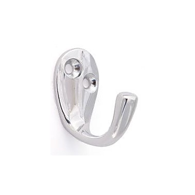 Alno Embassy Wall Mounted Single Robe Hook; Polished Chrome