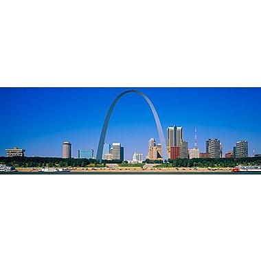 iCanvas Panoramic St Louis, Missouri Photographic Print on Canvas; 16'' H x 48'' W x 1.5'' D