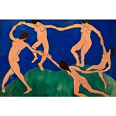 iCanvas 'The Dance I' by Henri Matisse Painting Print on Canvas; 18'' H x 26'' W x 0.75'' D