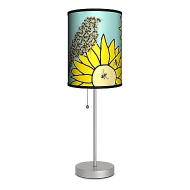 Lamp-In-A-Box Artist Cole Gerst ''Birds and Bees'' 20'' Table Lamp