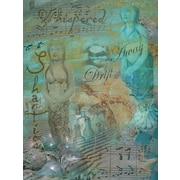 Graffitee Studios Mermaid Whispering Shanties Graphic Art on Wrapped Canvas