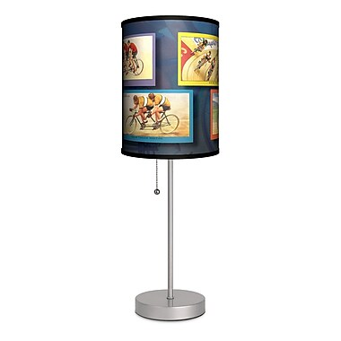 Lamp-In-A-Box Transportation Bicycles 20'' Table Lamp