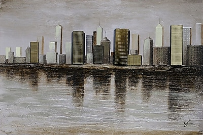 Ren-Wil 'Downtown' Print on Canvas