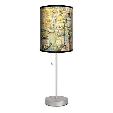 Lamp-In-A-Box Maurice Prendergast ''Grand Canal, Venice'' 20'' Table Lamp