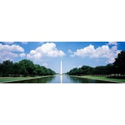 iCanvas Panoramic Washington Monument Washington, D.C Photographic Print on Wrapped Canvas