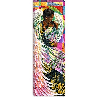 iCanvas ''Spring'' by Keith Mallett Graphic Art on Canvas; 36'' H x 12'' W x 0.75'' D
