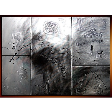 Acura Rugs Crossover 5 Piece Framed Painting on Wrapped Canvas Set