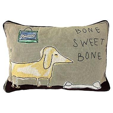 Park B Smith Ltd PB Paws & Co. Bone Sweet Bone Lumbar Pillow