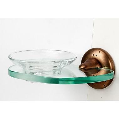 Alno Sierra Soap Dish; Rust Bronze