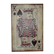 Cheungs King of Spades Graphic Art Plaque