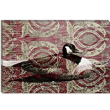 iCanvas Canadian Geese Graphic Art on Canvas; 18'' H x 26'' W x 0.75'' D