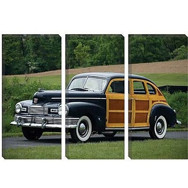 iCanvas Cars and Motorcycles 1947 Nash Ambassador Super Suburban Photographic Print on Canvas