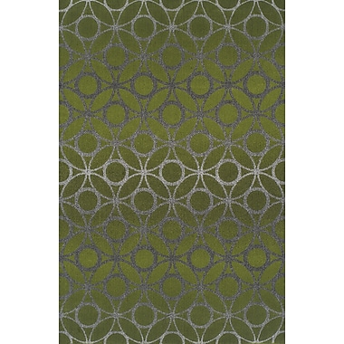 Dalyn Rug Co. Tempo Lime Zest Area Rug; Rectangle 3'3'' x 5'1''