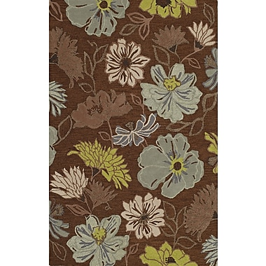 Dalyn Rug Co. Ambiance Hand Tufted Wool Chocolate Area Rug; 9' x 13'